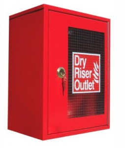 dry riser box 1